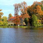 Der traumhafte Blick von der Havel auf das Schloss.